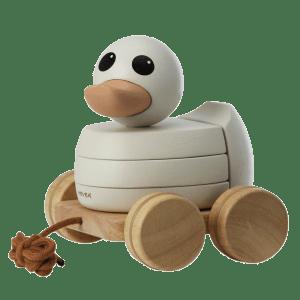 Hevea | Kawan Rubberwood Stacker and Pull Toy