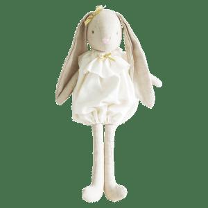 Alimrose | Sadie Romper Bunny | Ivory