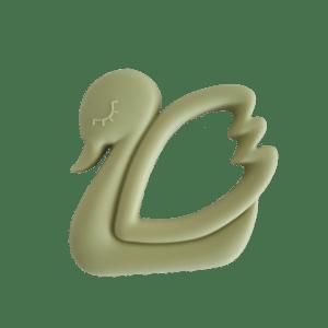 Bella Zailea | Swan Teether | Lint