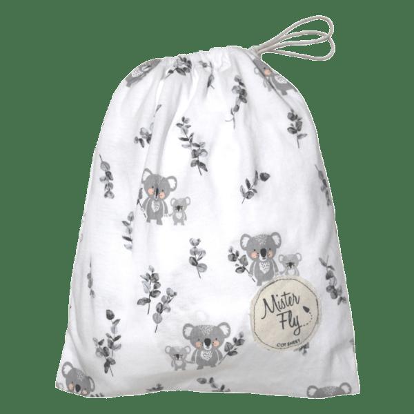 Mister Fly   Cot Sheet   Koala Buddies