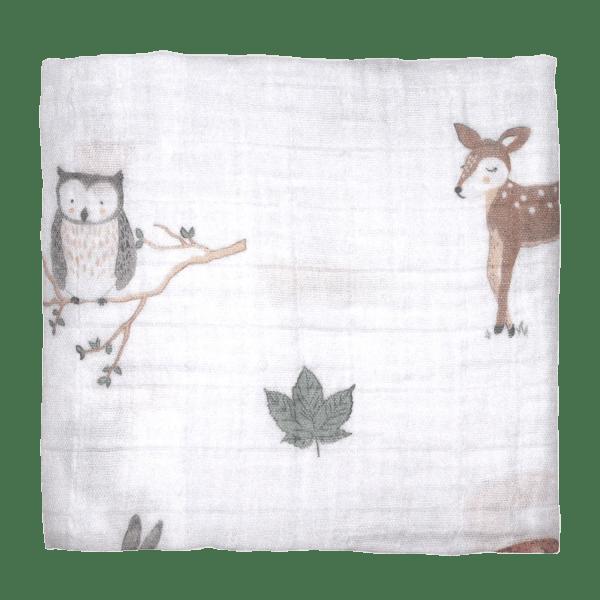Mister Fly | Muslin Wrap | Woodland