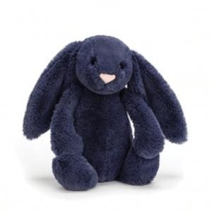 Jellycat | Bashful Navy Bunny | Medium