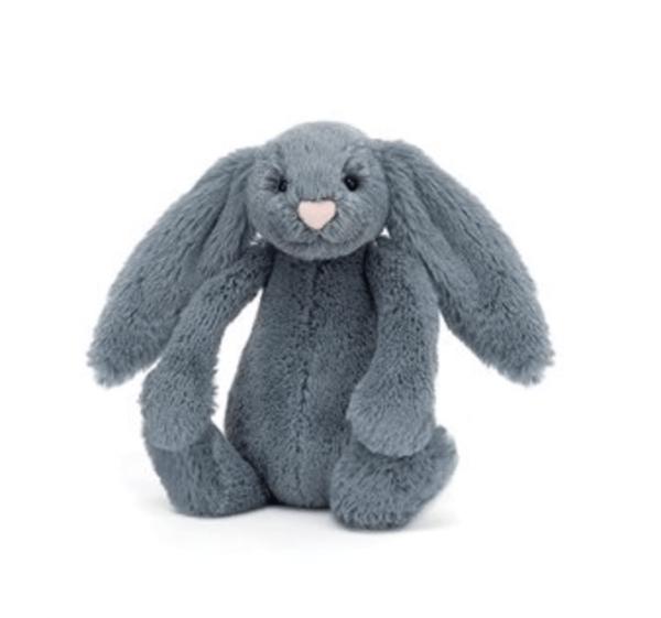 Jellycat | Bashful Dusky Blue Bunny | Small
